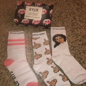Kylie Jenner x Arthur George socks